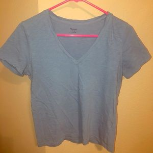 Madewell T-shirt blue medium